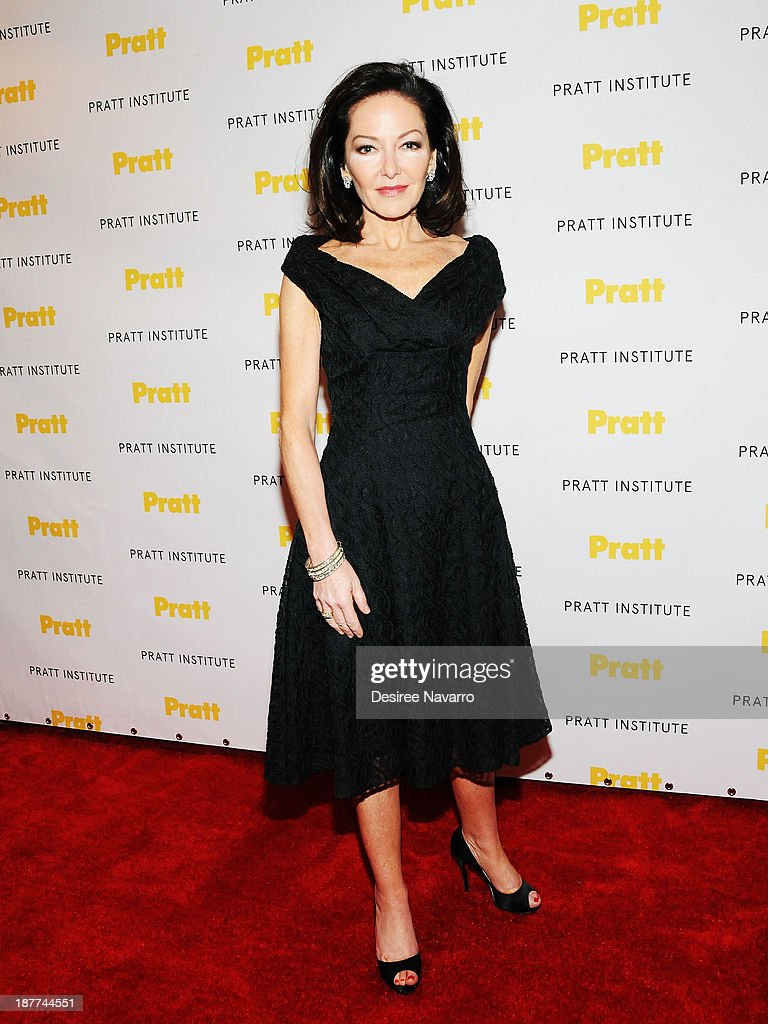 Honoree <a gi-track='captionPersonalityLinkClicked' href=/galleries/search?phrase=Margaret+Russell&family=editorial&specificpeople=221550 ng-click='$event.stopPropagation()'>Margaret Russell</a> attends the 2013 Pratt Institute Gala at Mandarin Oriental Hotel on November 11, 2013 in New York City.