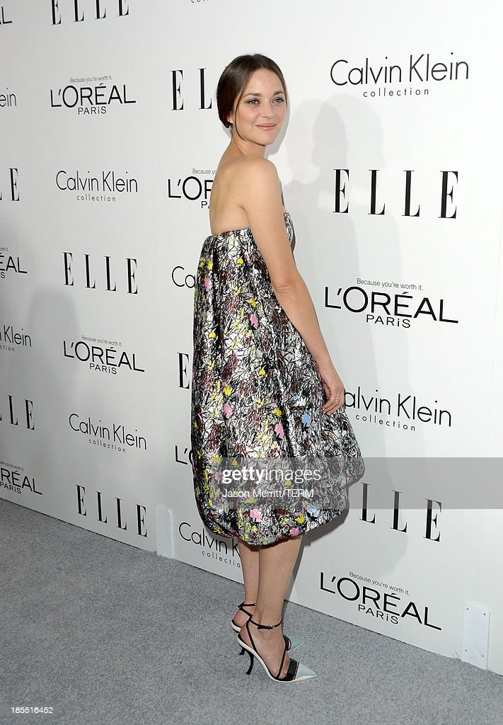 Honoree Marion Cotillard attends ELLE's 20th Annual Women In Hollywood Celebration at Four Seasons Hotel Los Angeles at Beverly Hills on October 21, 2013 in Beverly Hills, California.