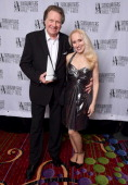 Honoree Mark James and April Anderson attend Songwriters Hall of Fame 45th Annual Induction And Awards at Marriott Marquis Theater on June 12 2014 in...