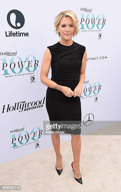Honoree Megyn Kelly attends The Hollywood Reporter's Annual Women in Entertainment Breakfast in Los Angeles at Milk Studios on December 7 2016 in...