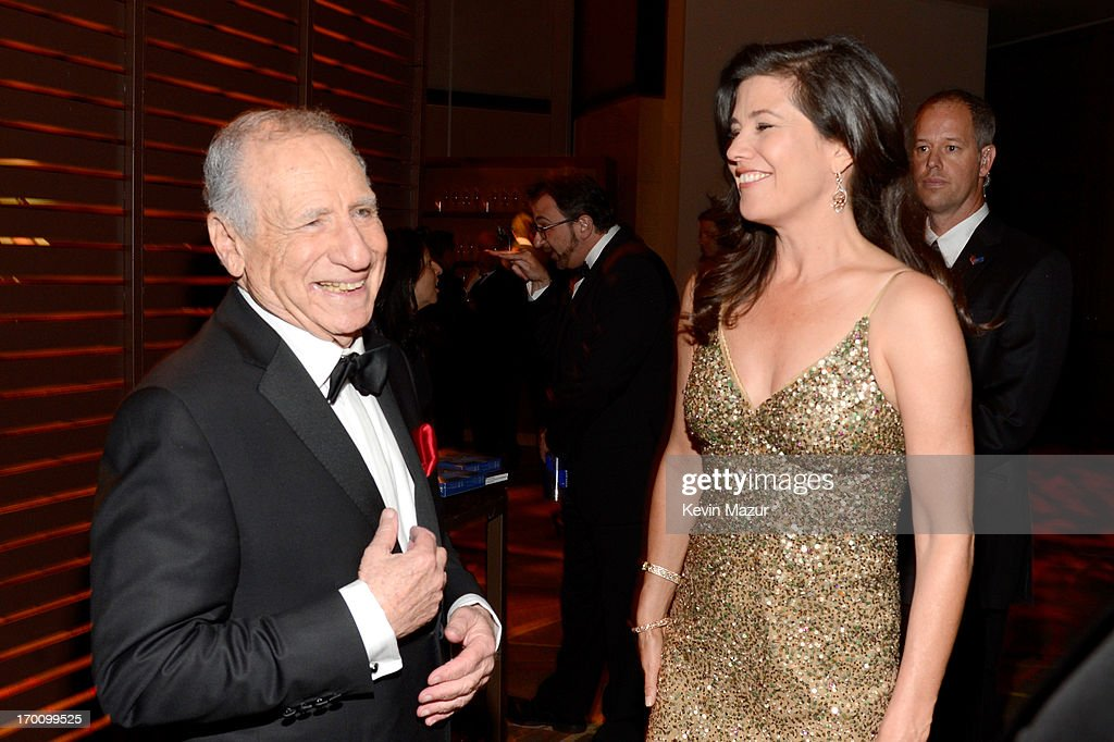 Honoree Mel Brooks and actress Daphne Zuniga attend the after party for AFI's 41st Life Achievement Award Tribute to Mel Brooks at Dolby Theatre on June 6, 2013 in Hollywood, California. 23647_004_KM_1959.JPG