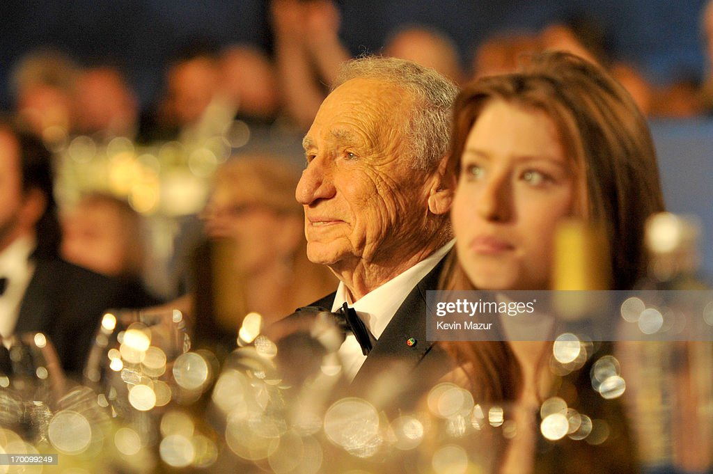 Honoree Mel Brooks (L) and granddaughter Samantha Brooks attend AFI's 41st Life Achievement Award Tribute to Mel Brooks at Dolby Theatre on June 6, 2013 in Hollywood, California. 23647_004_KM_1714.JPG