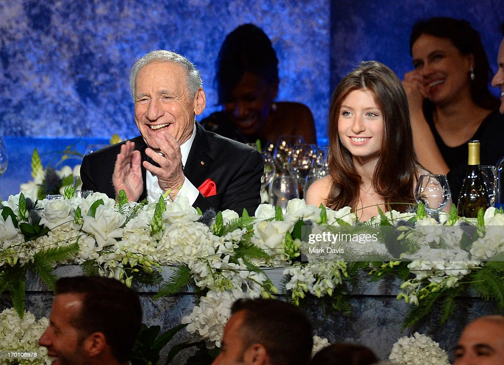 Honoree Mel Brooks (L) and Samantha Brooks attend AFI's 41st Life Achievement Award Tribute to Mel Brooks at Dolby Theatre on June 6, 2013 in Hollywood, California. 23647_005_MD_0938.JPG