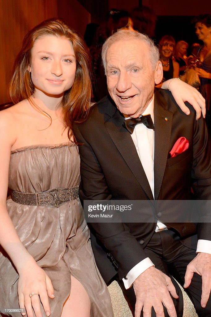 Honoree Mel Brooks (R) and Samantha Brooks attend the after party for AFI's 41st Life Achievement Award Tribute to Mel Brooks at Dolby Theatre on June 6, 2013 in Hollywood, California. 23647_004_KM_1806.JPG