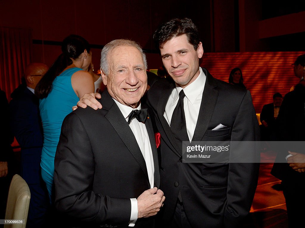 Honoree <a gi-track='captionPersonalityLinkClicked' href=/galleries/search?phrase=Mel+Brooks&family=editorial&specificpeople=208129 ng-click='$event.stopPropagation()'>Mel Brooks</a> and son, author/actor Max Brooks attend the after party for AFI's 41st Life Achievement Award Tribute to <a gi-track='captionPersonalityLinkClicked' href=/galleries/search?phrase=Mel+Brooks&family=editorial&specificpeople=208129 ng-click='$event.stopPropagation()'>Mel Brooks</a> at Dolby Theatre on June 6, 2013 in Hollywood, California. 23647_004_KM_1878.JPG