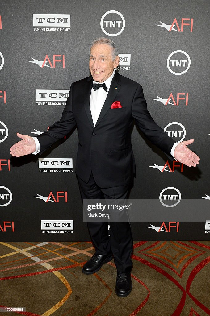 Honoree <a gi-track='captionPersonalityLinkClicked' href=/galleries/search?phrase=Mel+Brooks&family=editorial&specificpeople=208129 ng-click='$event.stopPropagation()'>Mel Brooks</a> attends AFI's 41st Life Achievement Award Tribute to <a gi-track='captionPersonalityLinkClicked' href=/galleries/search?phrase=Mel+Brooks&family=editorial&specificpeople=208129 ng-click='$event.stopPropagation()'>Mel Brooks</a> at Dolby Theatre on June 6, 2013 in Hollywood, California. 23647_005_MD_0031.JPG