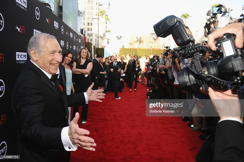 Honoree <a gi-track='captionPersonalityLinkClicked' href=/galleries/search?phrase=Mel+Brooks&family=editorial&specificpeople=208129 ng-click='$event.stopPropagation()'>Mel Brooks</a> attends AFI's 41st Life Achievement Award Tribute to <a gi-track='captionPersonalityLinkClicked' href=/galleries/search?phrase=Mel+Brooks&family=editorial&specificpeople=208129 ng-click='$event.stopPropagation()'>Mel Brooks</a> at Dolby Theatre on June 6, 2013 in Hollywood, California. 23647_003_SK_0278.JPG