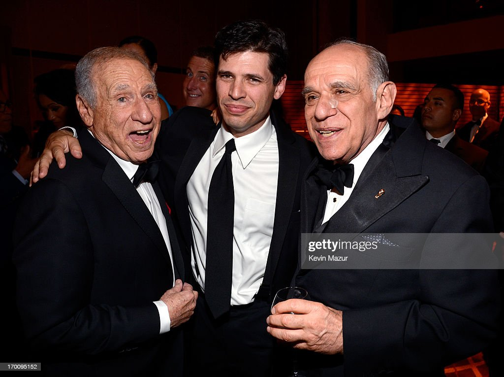 Honoree <a gi-track='captionPersonalityLinkClicked' href=/galleries/search?phrase=Mel+Brooks&family=editorial&specificpeople=208129 ng-click='$event.stopPropagation()'>Mel Brooks</a>, Max Brooks and Howard Kaminsky attend the after party for AFI's 41st Life Achievement Award Tribute to <a gi-track='captionPersonalityLinkClicked' href=/galleries/search?phrase=Mel+Brooks&family=editorial&specificpeople=208129 ng-click='$event.stopPropagation()'>Mel Brooks</a> at Dolby Theatre on June 6, 2013 in Hollywood, California. 23647_004_KM_1882.JPG