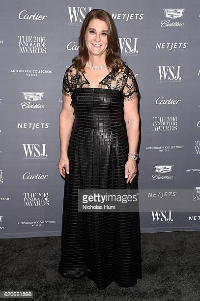 Honoree Melinda Gates attends the WSJ Magazine 2016 Innovator Awards at Museum of Modern Art on November 2 2016 in New York City