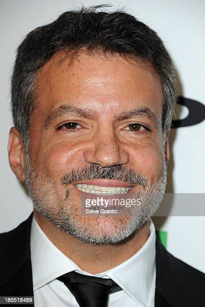 Honoree Michael DeLuca poses in the press room during the 17th Annual Hollywood Film Awards at The Beverly Hilton Hotel on October 21 2013 in Beverly...