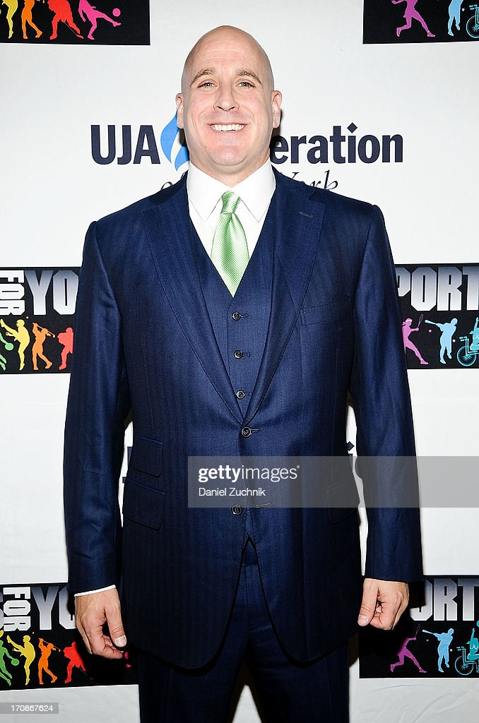 Honoree Michael Levine attends UJA-Federation Of New York's Sports for Youth Luncheon at The Roosevelt Hotel on June 19, 2013 in New York City.