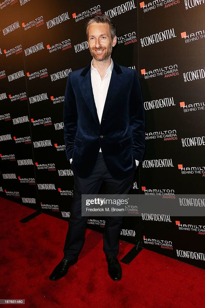Honoree Michael Wilkinson attends the Seventh Annual Hamilton Behind the Camera Awards at The Wilshire Ebell Theatre on November 10, 2013 in Los Angeles, California.