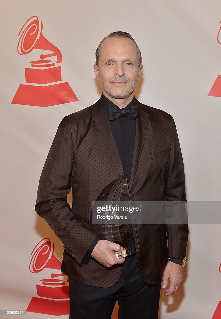 Honoree <a gi-track='captionPersonalityLinkClicked' href=/galleries/search?phrase=Miguel+Bose&family=editorial&specificpeople=577901 ng-click='$event.stopPropagation()'>Miguel Bose</a> attends the 2013 Latin Recording Academy Special Awards during the 14th annual Latin GRAMMY Awards on November 20, 2013 in Las Vegas, Nevada.