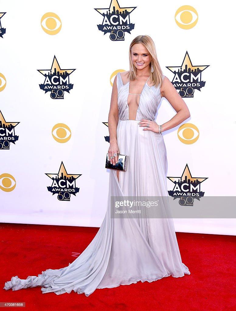 Honoree Miranda Lambert attends the 50th Academy of Country Music Awards at ATT Stadium on April 19 2015 in Arlington Texas