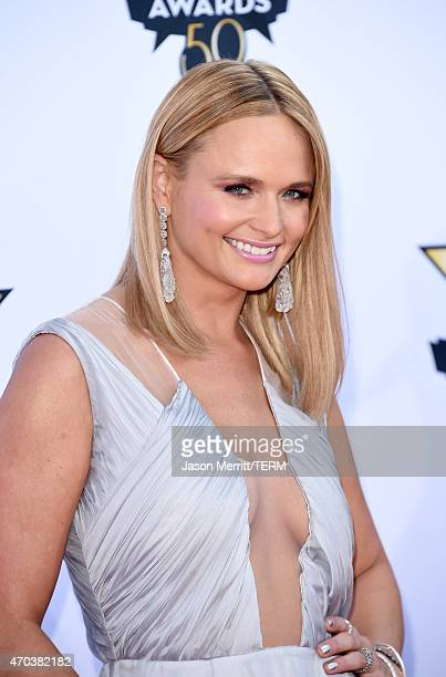 Honoree Miranda Lambert attends the 50th Academy of Country Music Awards at ATT Stadium on April 19 2015 in Arlington Texas