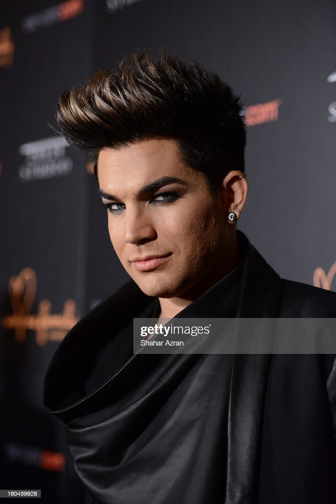 Honoree musical artist Adam Lambert attends 2013 We Are Family Foundation Gala at Hammerstein Ballroom on January 31, 2013 in New York City.