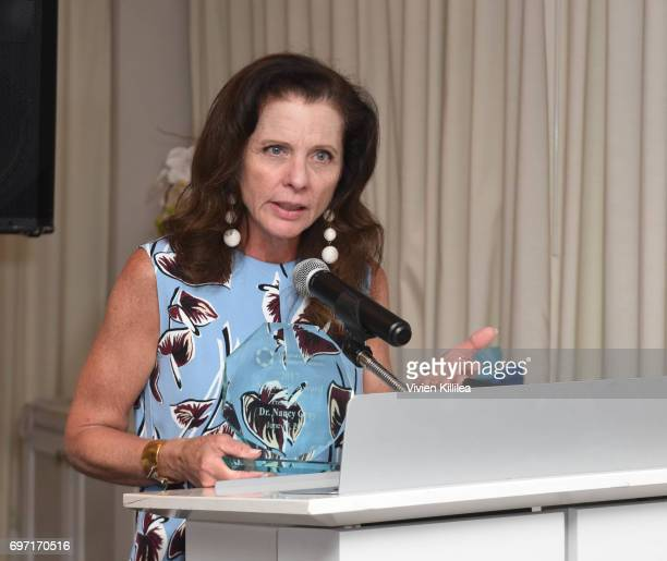 Honoree Nancy Gray attends Academy Award Winner and LERN Spokesperson Kathy Bates Hosts Reception On The Eve Of The Third Annual California Run/Walk...