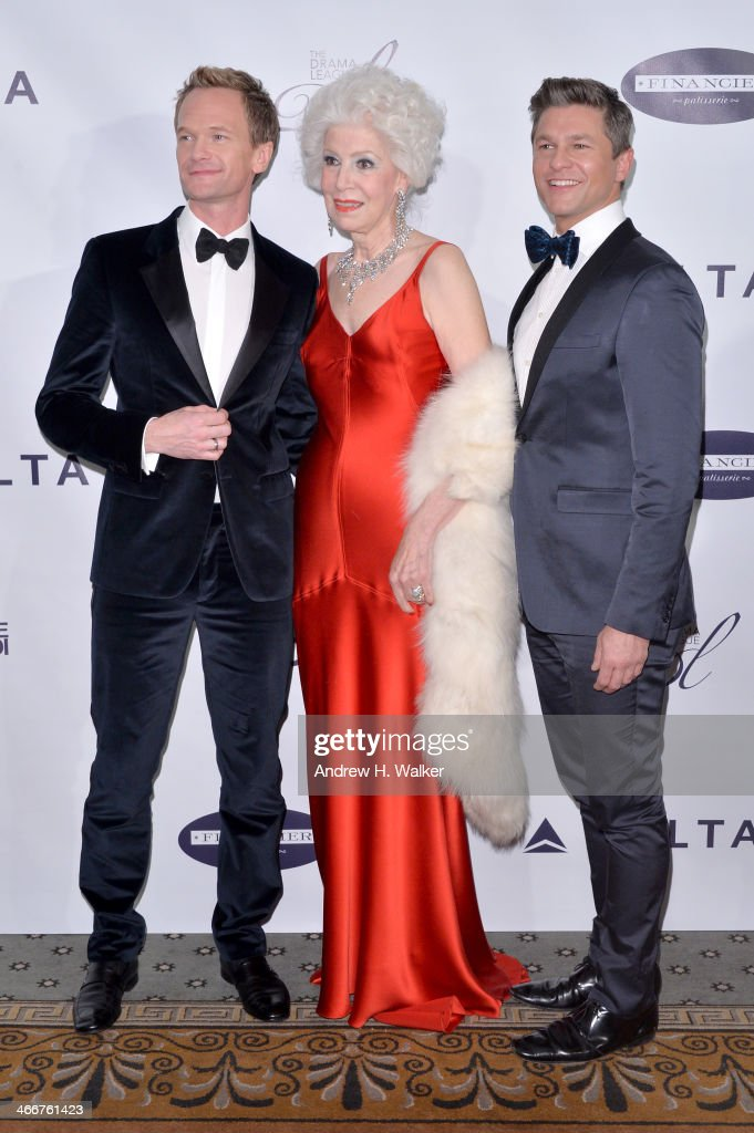 Honoree <a gi-track='captionPersonalityLinkClicked' href=/galleries/search?phrase=Neil+Patrick+Harris&family=editorial&specificpeople=210509 ng-click='$event.stopPropagation()'>Neil Patrick Harris</a>, Drama League Board President Jano Herbosch, and <a gi-track='captionPersonalityLinkClicked' href=/galleries/search?phrase=David+Burtka&family=editorial&specificpeople=572242 ng-click='$event.stopPropagation()'>David Burtka</a> attend The Drama League's 30th Annual Musical Celebration of Broadway honoring <a gi-track='captionPersonalityLinkClicked' href=/galleries/search?phrase=Neil+Patrick+Harris&family=editorial&specificpeople=210509 ng-click='$event.stopPropagation()'>Neil Patrick Harris</a> at The Pierre Hotel on February 3, 2014 in New York City.