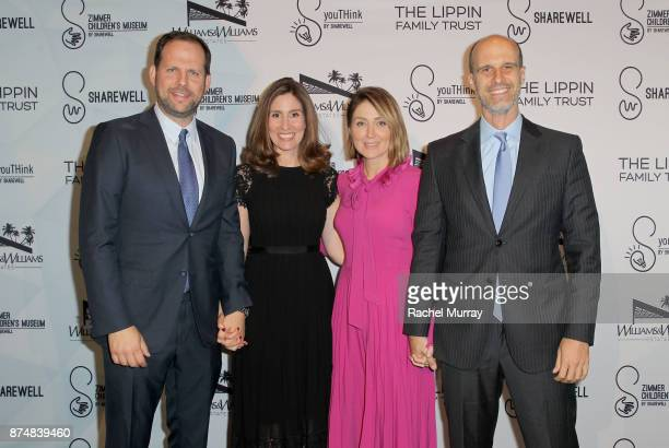 Honoree Nick Grad the President Origional Programing for FX Networks and FX Productions Honoree Carolyn Bernstein the Executive VP and Head of Global...
