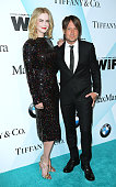 Honoree Nicole Kidman and musician Keith Urban attend the Women In Film 2015 Crystal Lucy Awards at the Hyatt Regency Century Plaza on June 16 2015...