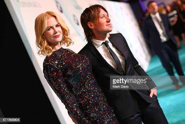 Honoree Nicole Kidman and recording artist Keith Urban attend the Women In Film 2015 Crystal Lucy Awards Presented by Max Mara BMW of North America...