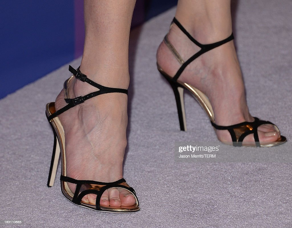 Honoree Nicole Kidman (shoe detail) arrives at Variety's 5th Annual Power of Women event presented by Lifetime at the Beverly Wilshire Four Seasons Hotel on October 4, 2013 in Beverly Hills, California.