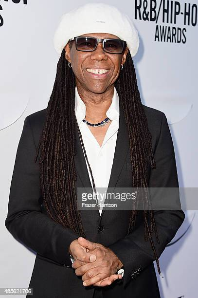 Honoree Nile Rodgers attends the 2015 BMI RB/HipHop Awards at Saban Theatre on August 28 2015 in Beverly Hills California