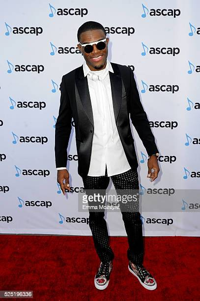 Honoree Omi attends the 2016 ASCAP Pop Awards at Dolby Theatre on April 27 2016 in Hollywood California