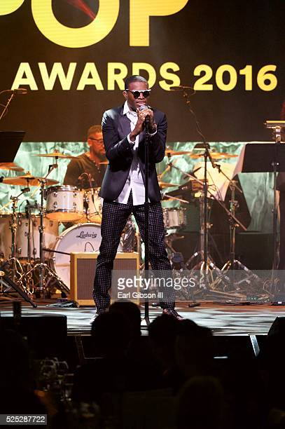 Honoree Omi performs onstage during the 2016 ASCAP Pop Awards at Dolby Theatre on April 27 2016 in Hollywood California
