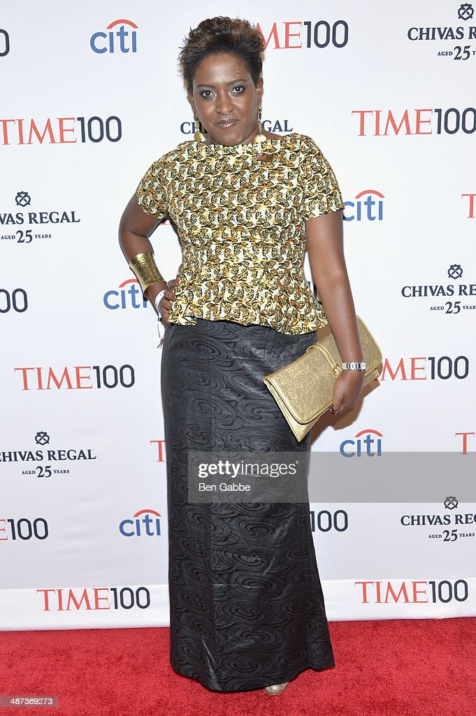 Honoree Ory Okolloh attends the TIME 100 Gala, TIME's 100 most influential people in the world, at Jazz at Lincoln Center on April 29, 2014 in New York City.