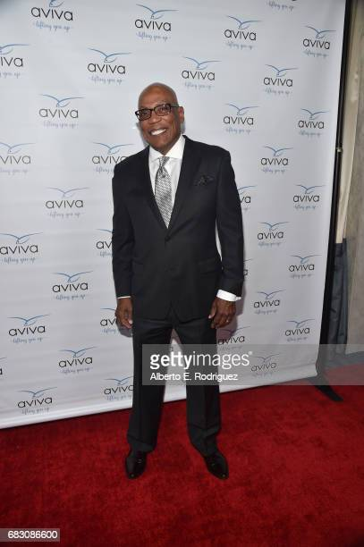 Honoree Paris Barclay attends Aviva Family And Children's Services' A Gala at the Beverly Wilshire Four Seasons Hotel on May 13 2017 in Beverly Hills...
