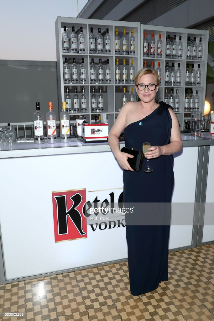 Honoree Patricia Arquette celebrates achievements in the LGBTQ community at the 28th Annual GLAAD Media Awards, sponsored by LGBTQ ally, Ketel One Vodka, in Beverly Hills on April 1, 2017.
