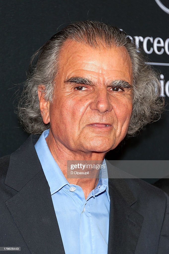 Honoree Patrick Demarchelier attends the 2013 Style Awards at Lincoln Center on September 4 2013 in New York City