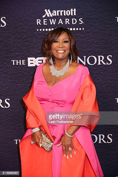 Honoree Patti LaBelle attends the BET Honors 2016 at Warner Theatre on March 5 2016 in Washington DC