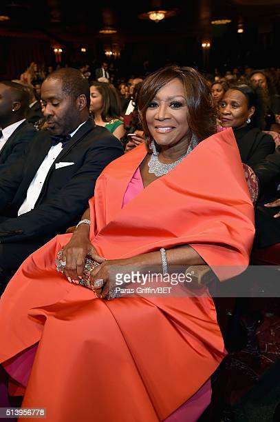 Honoree Patti LaBelle attends the BET Honors 2016 Show at Warner Theatre on March 5 2016 in Washington DC