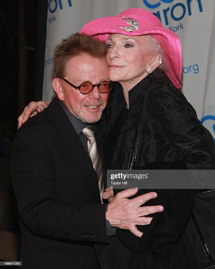 Honoree Paul Williams and singer Judy Collins attend the 2013 Caron New York Gala at Cipriani 42nd Street on May 15, 2013 in New York City.