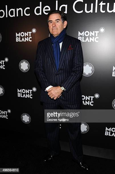 Honoree Peter Brant attends the 24th Anniversary Year Of Montblanc De La Culture Arts Patronage Awards at Kappo Masa on November 10 2015 in New York...