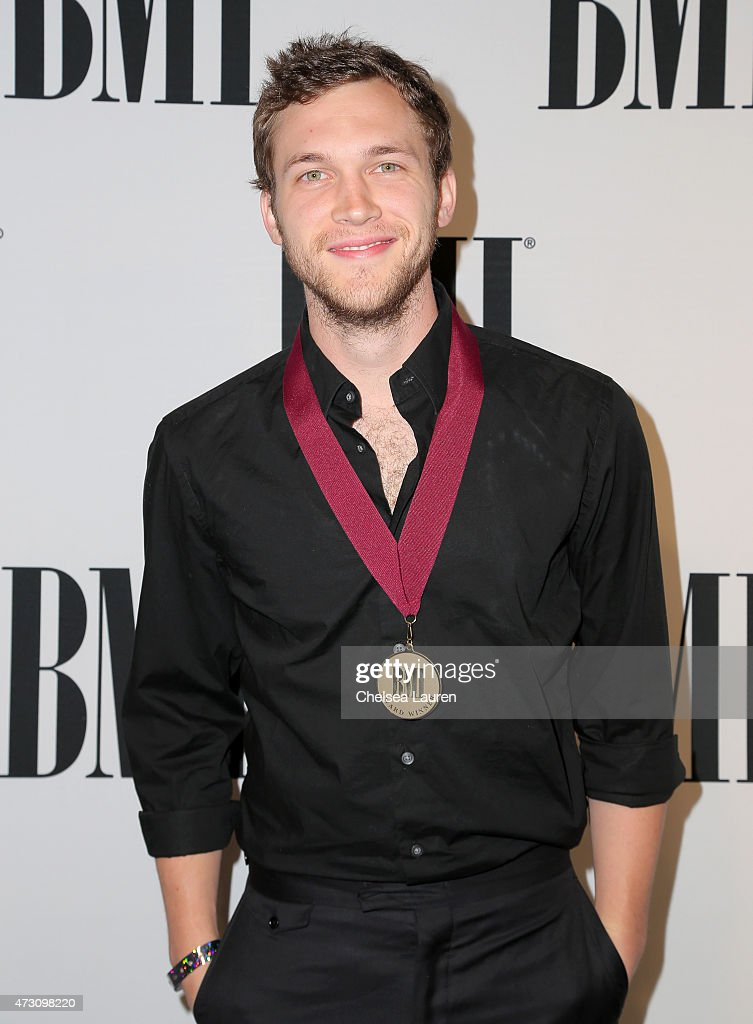 Honoree <a gi-track='captionPersonalityLinkClicked' href=/galleries/search?phrase=Phillip+Phillips&family=editorial&specificpeople=1651494 ng-click='$event.stopPropagation()'>Phillip Phillips</a> attends the 63rd Annual BMI Pop Awards held at the Beverly Wilshire Hotel on May 12, 2015 in Beverly Hills, California.