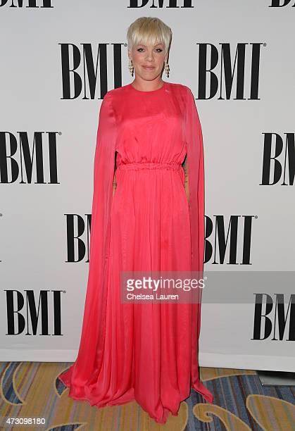 Honoree Pnk attends the 63rd Annual BMI Pop Awards held at the Beverly Wilshire Hotel on May 12 2015 in Beverly Hills California