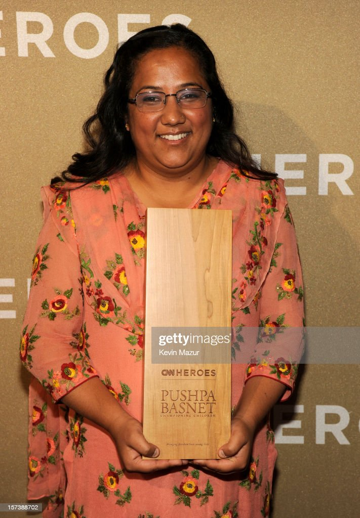 Honoree Pushpa Basnet the Early Childhood Development Center attends the CNN Heroes: An All Star Tribute at The Shrine Auditorium on December 2, 2012 in Los Angeles, California. 23046_005_KM_0222.JPG