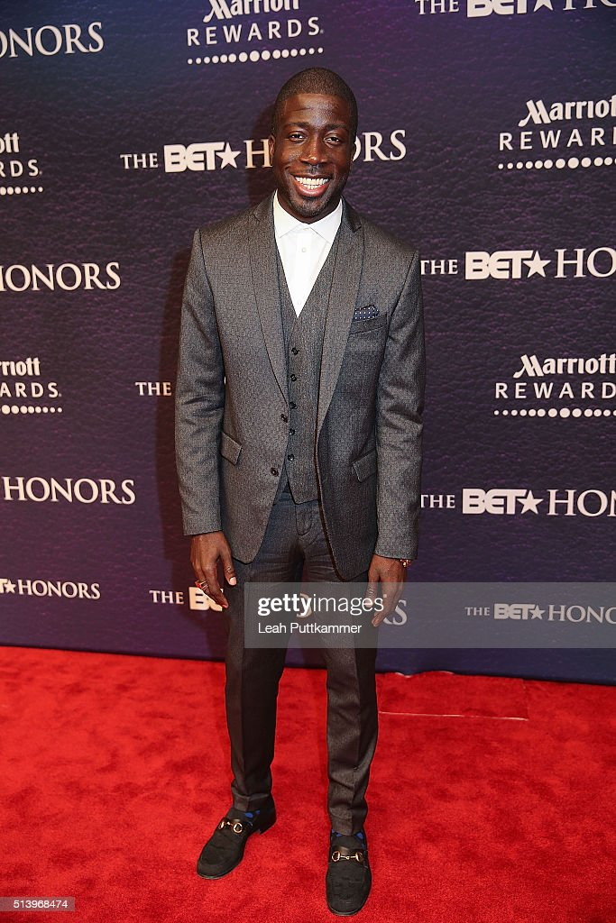 Honoree Rae Holliday attends the BET Honors 2016 at Warner Theatre on March 5 2016 in Washington DC