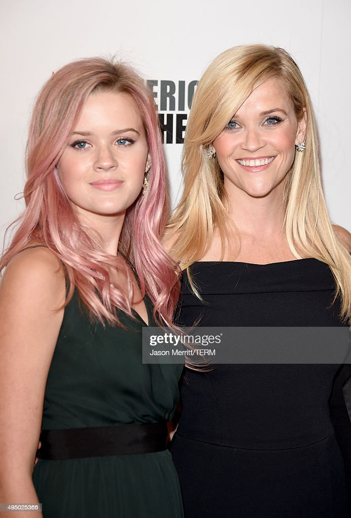 Honoree Reese Witherspoon and Ava Phillippe attend the 29th American Cinematheque Award honoring Reese Witherspoon at the Hyatt Regency Century Plaza...
