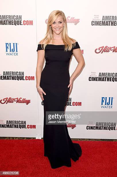 Honoree Reese Witherspoon attends the 29th American Cinematheque Award honoring Reese Witherspoon at the Hyatt Regency Century Plaza on October 30...
