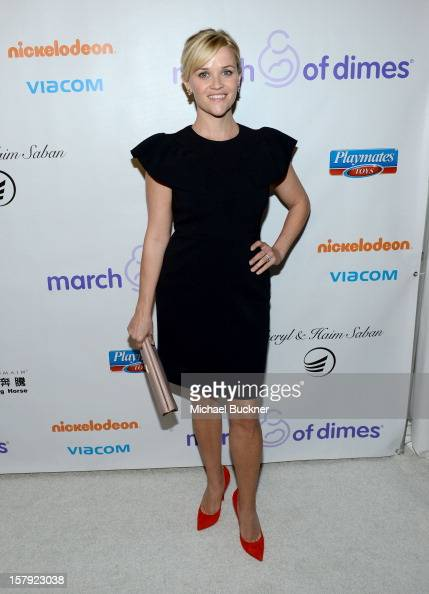 Honoree Reese Witherspoon attends the 7th Annual March of Dimes Celebration of Babies a Hollywood Luncheon at the Beverly Hills Hotel on December 7...