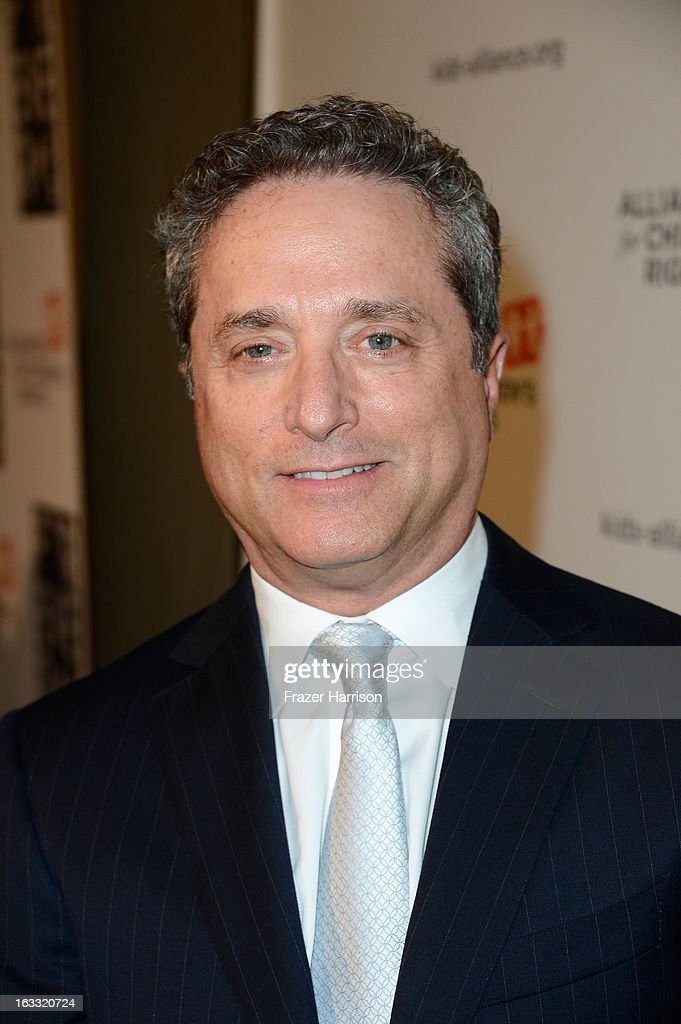 Honoree Rick Rosen arrives at The Alliance For Children's Rights' 21st Annual Dinner at The Beverly Hilton Hotel on March 7, 2013 in Beverly Hills, California.