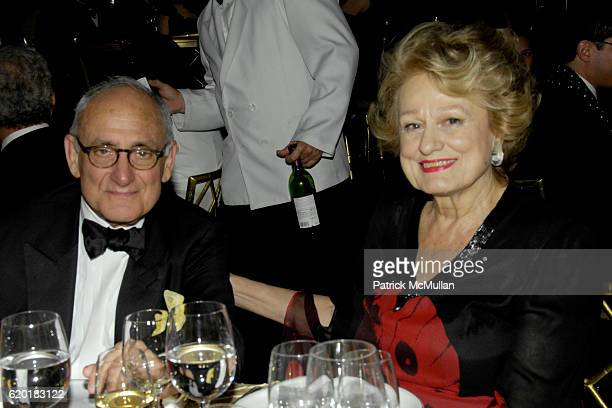 Honoree Robert A M Stern and Elizabeth Scott attend SOANE FOUNDATION Goes Thoroughly Modern at Rainbow Room on April 23 2008 in New York City