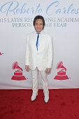 Honoree Roberto Carlos attends the 2015 Latin GRAMMY Person of the Year honoring Roberto Carlos at the Mandalay Bay Events Center on November 18 2015...