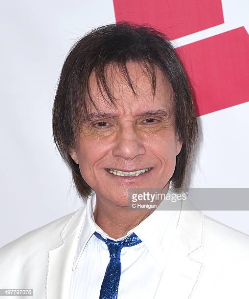 Honoree Roberto Carlos attends the 2015 Latin GRAMMY Person of the Year Tribute at the Mandalay Bay Events Center on November 18 2015 in Las Vegas...