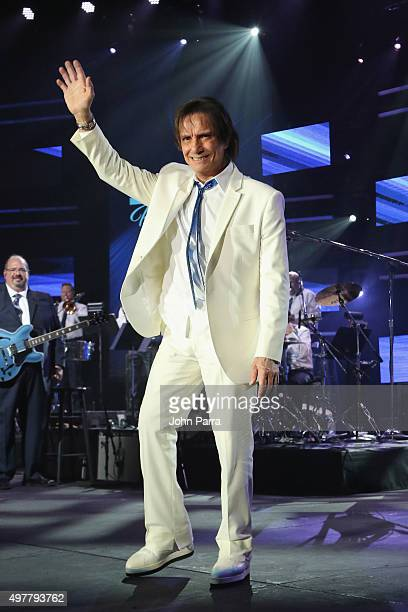Honoree Roberto Carlos speaks onstage during the 2015 Latin GRAMMY Person of the Year honoring Roberto Carlos at the Mandalay Bay Events Center on...