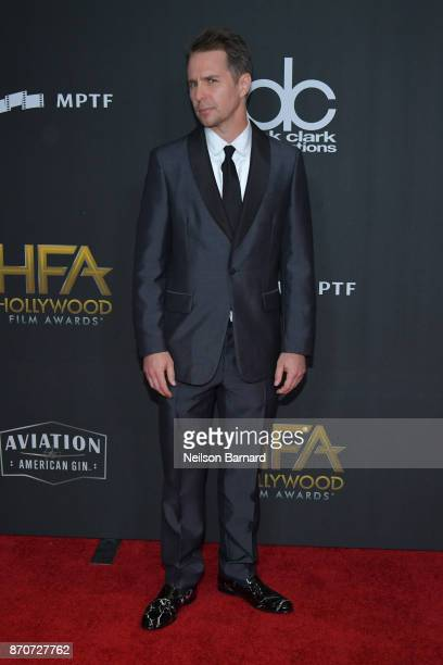 Honoree Sam Rockwell attends the 21st Annual Hollywood Film Awards at The Beverly Hilton Hotel on November 5 2017 in Beverly Hills California